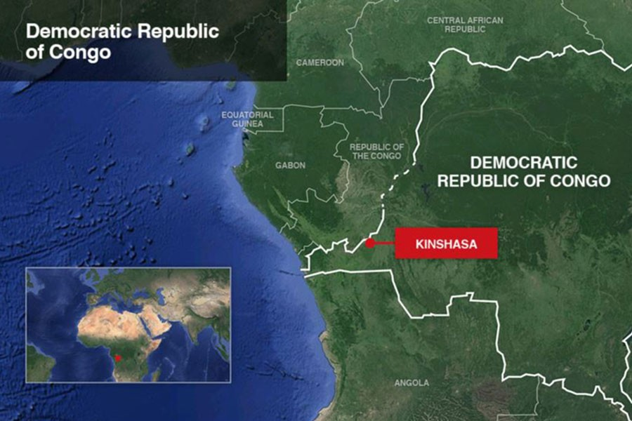 Over 50 dead, 70 more missing after boat sinks on Congo River