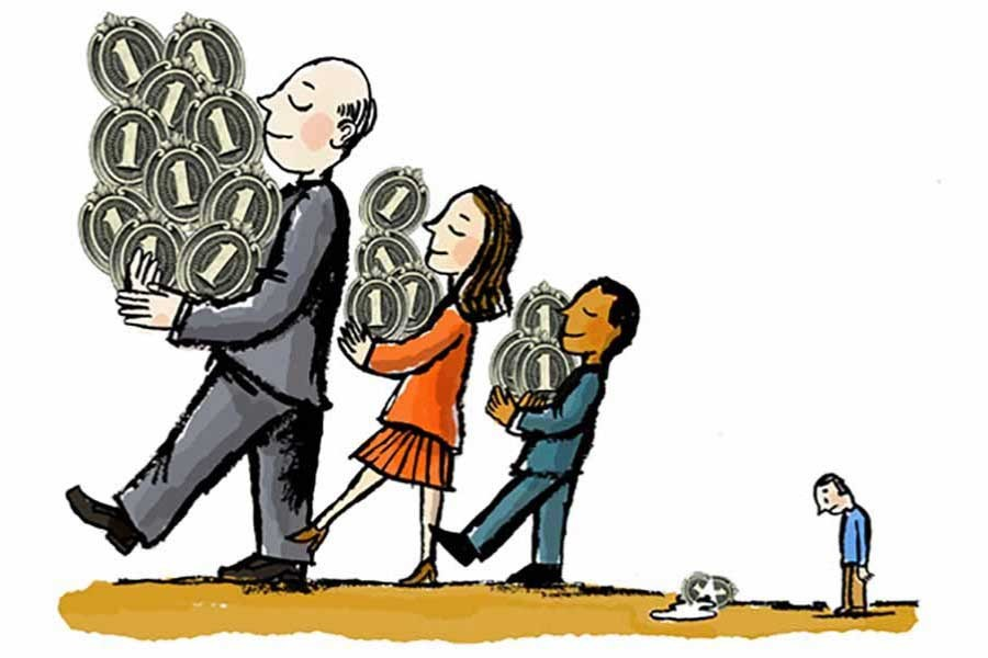 Income inequality and the middle class