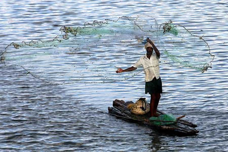 The net that poses threat to local fish