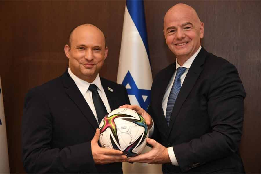 FIFA president offers Israel to host 2030 World Cup with neighbours
